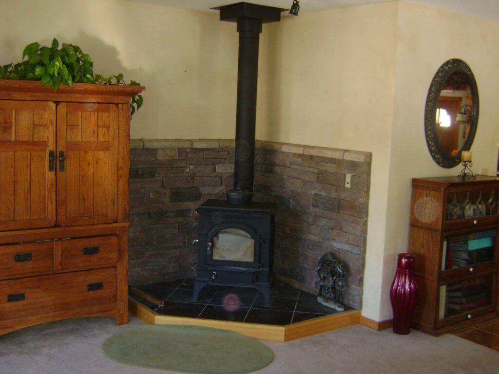Fireplace stone Log Mountain Homes Log Mountain construction18